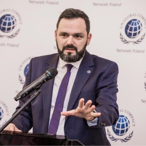 Kamil Wyszkowski (Representative & President of the Board at Global Compact Network Poland)